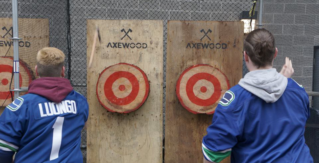 Downtown Vancouver's first-ever axe throwing venue opens next month