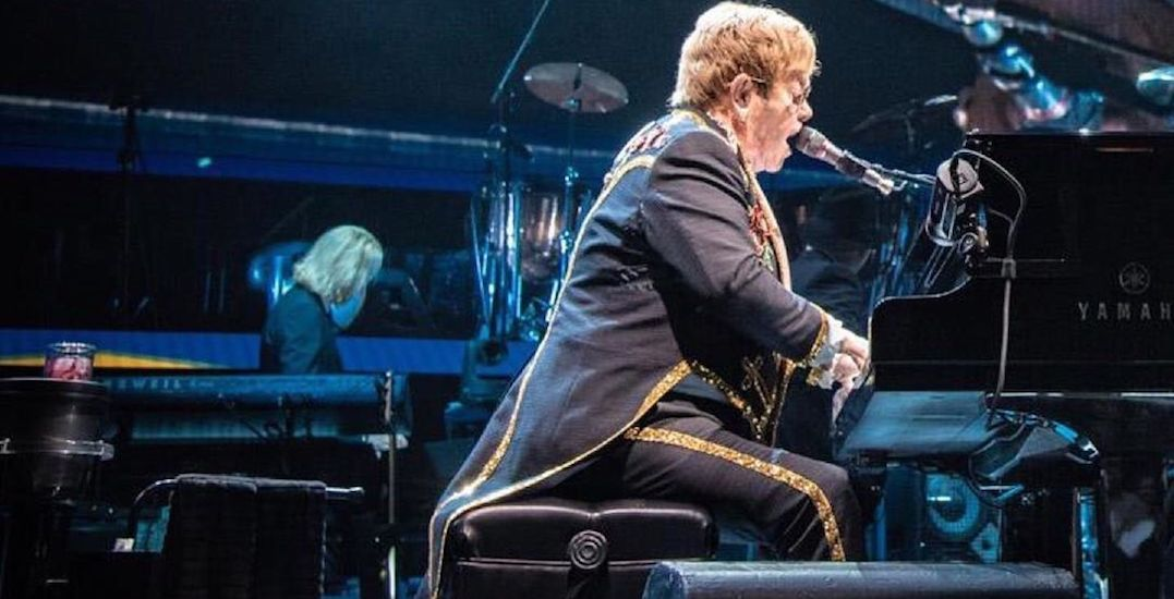 Elton John performed at Scotiabank Arena last night for his farewell tour (PHOTOS)