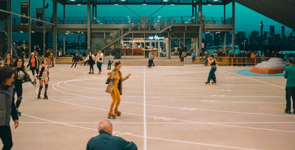 shipyards roller skating