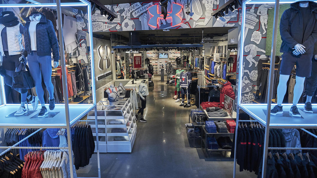 Under Armour just opened its first Canadian brand store in Toronto (PHOTOS)