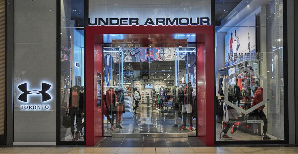 compartir Acera Felicidades  Under Armour just opened its first Canadian brand store in Toronto   Curated
