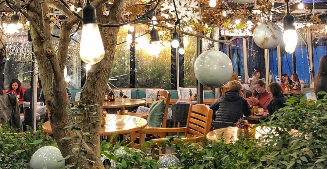 Reflections' magical hidden winter patio is not happening this year