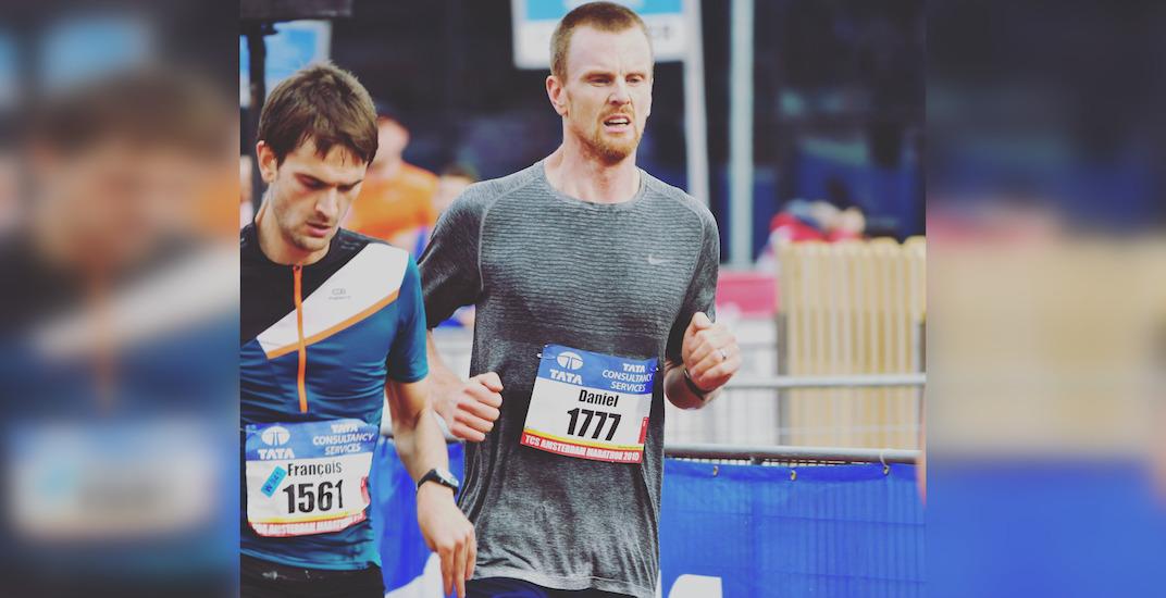 Daniel Sedin posts impressive time at Amsterdam Marathon