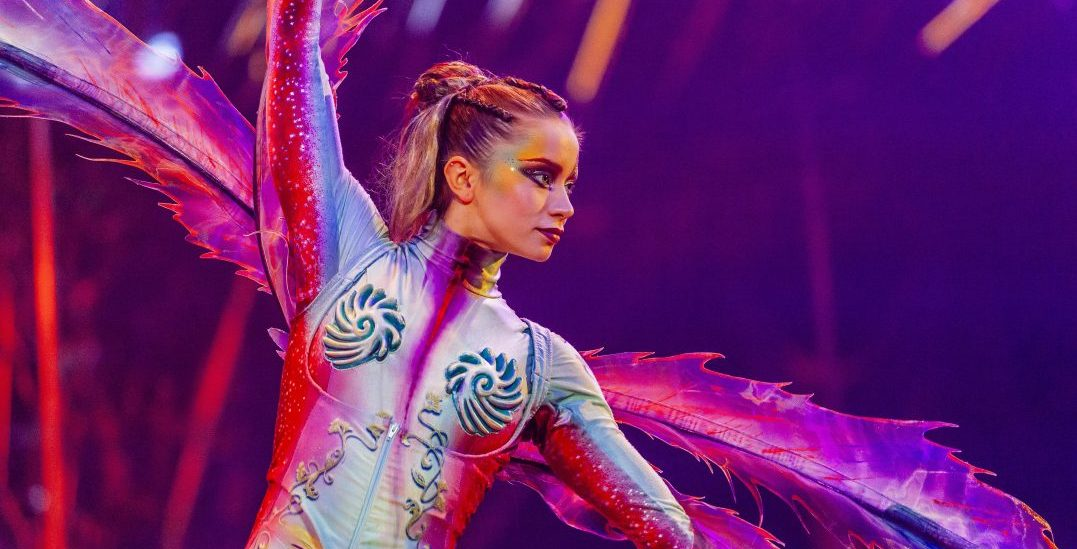 This is what it's like to be an aerialist in Cirque du Soleil