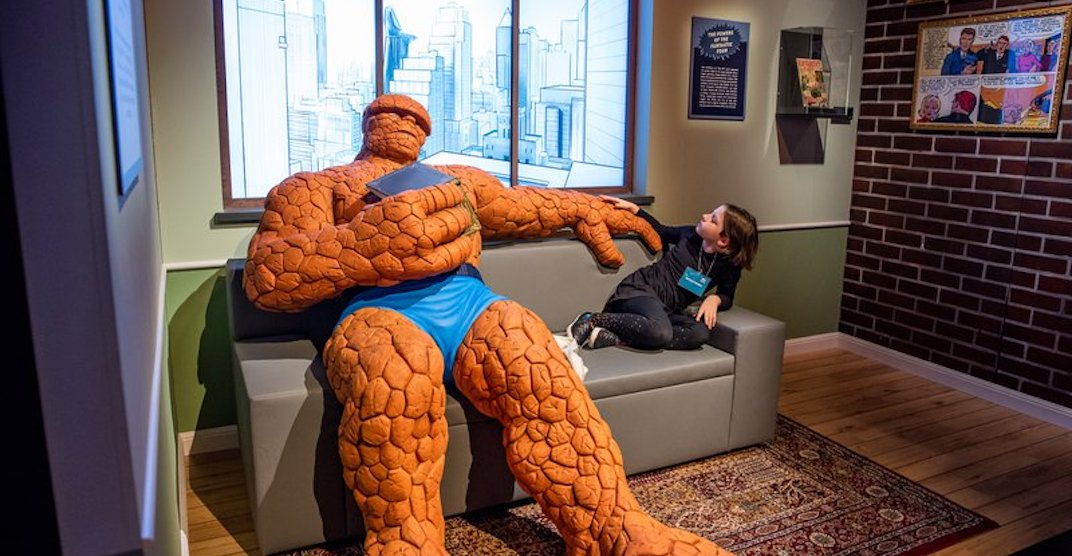 This epic Marvel exhibition is on now at TELUS World of Science Edmonton