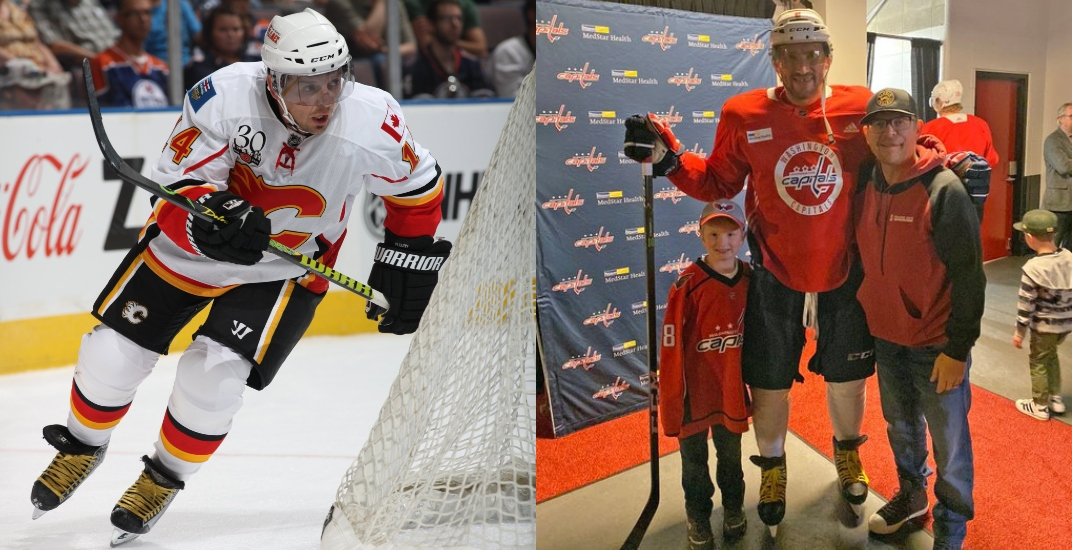 Alex Ovechkin's on-ice style was influenced by Flames legend Theo Fleury