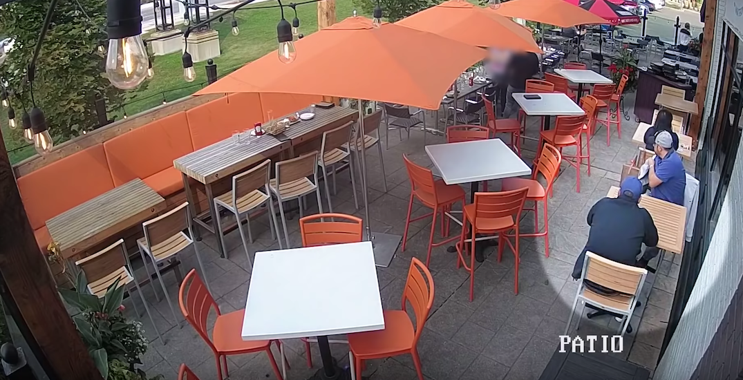 "York police warn of ""distraction thefts"" after woman robbed on patio (VIDEO)"