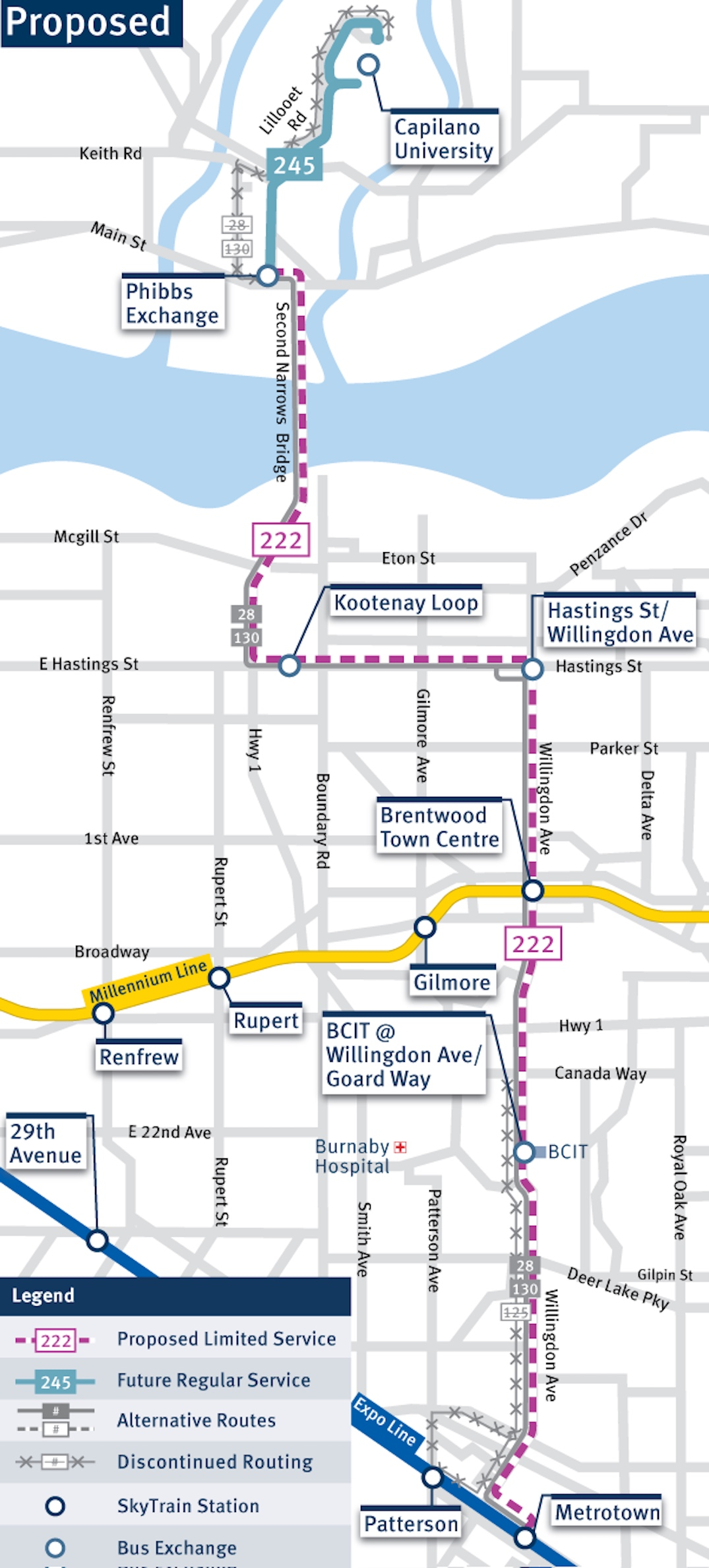 Translink Proposes 2 New Major Bus Routes Connecting To