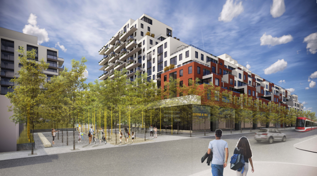 """City of Toronto project to create hundreds of new """"affordable"""" rental homes in Queen East"""