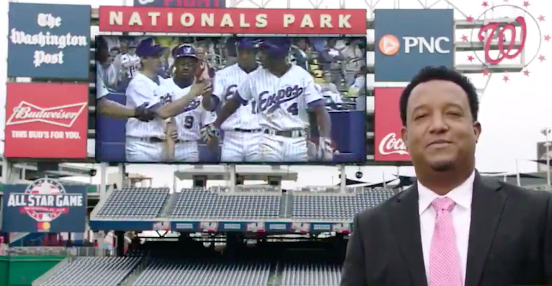 Former Expos pitcher Pedro Martinez looks back at the 1994 team (VIDEO)