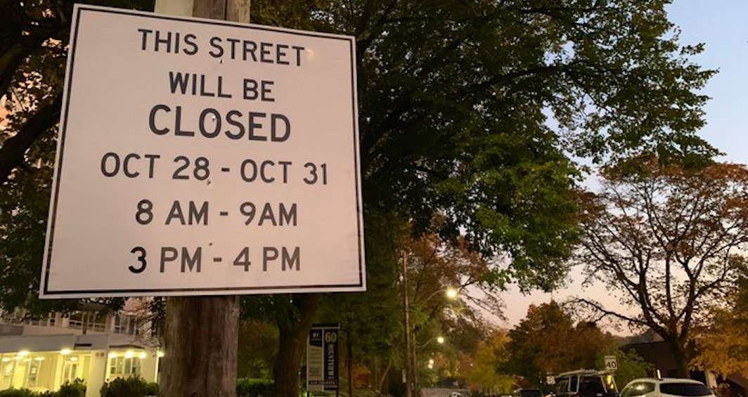 New pilot project bans vehicles from street in front of Toronto school