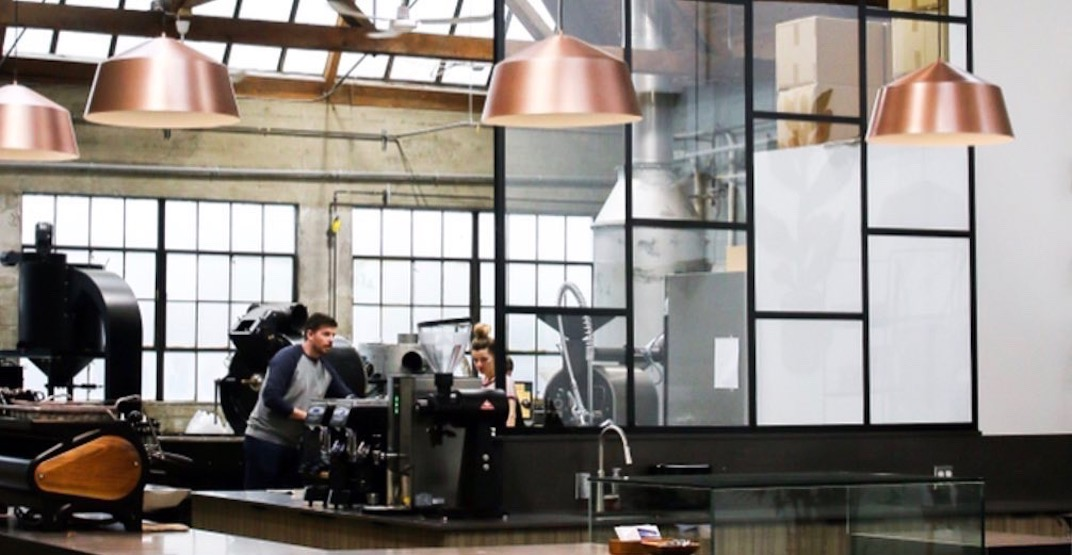 Vancouver coffee brand's huge new roastery and cafe to open next week