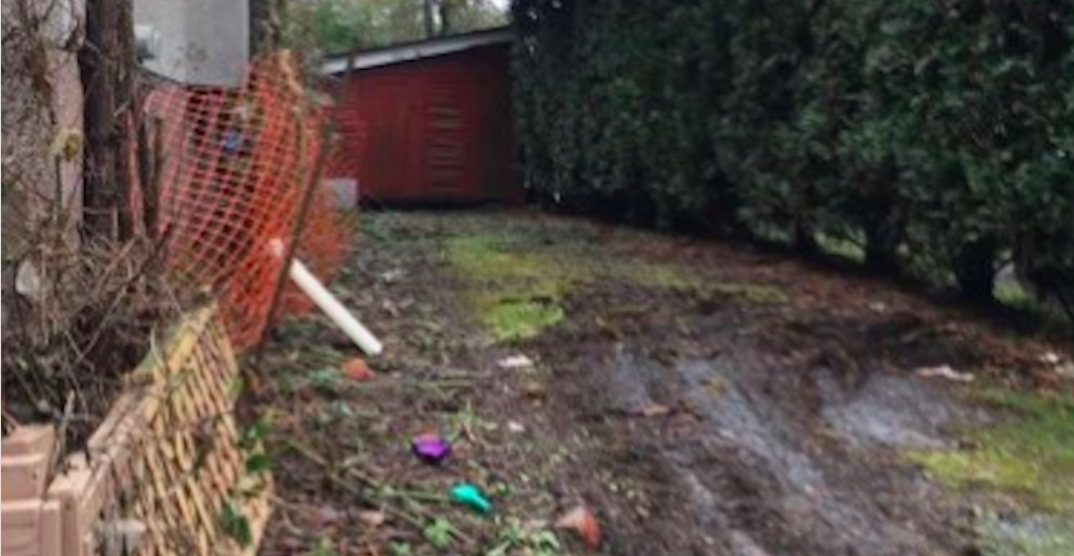 Basically unusable scrap of East Vancouver land listed for $108K
