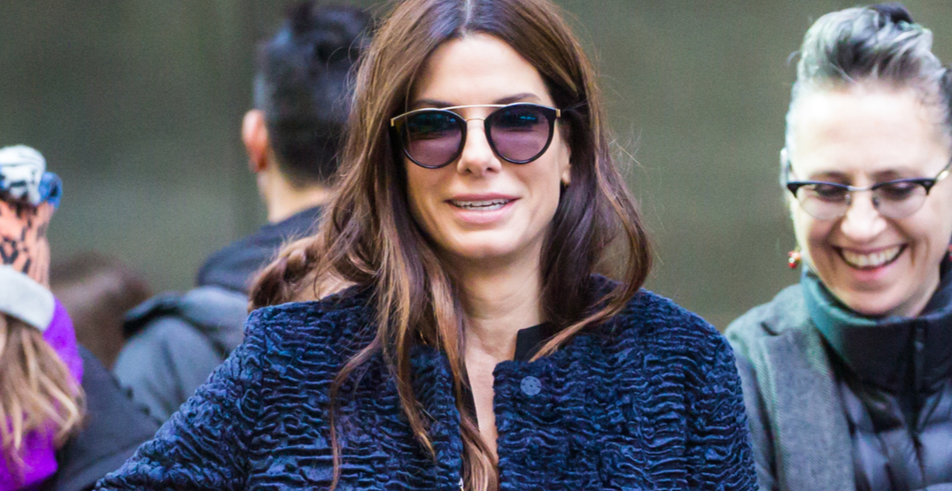 Sandra Bullock was just spotted at this Vancouver restaurant
