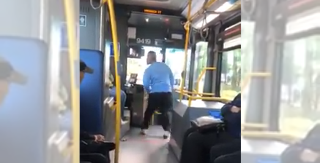 Man who kicked bus doors and assaulted driver arrested: Transit Police