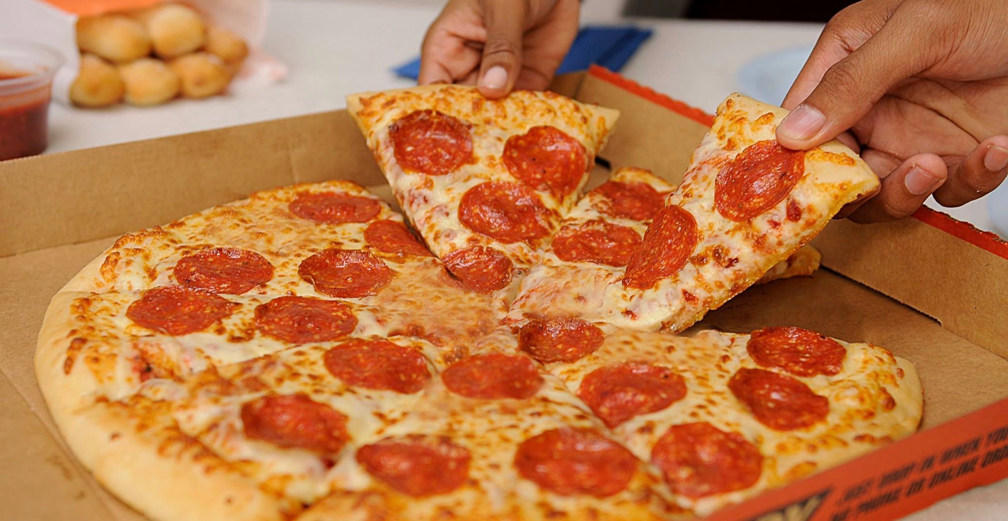Little Caesars is offering buy-one-get-one FREE pizzas across Canada