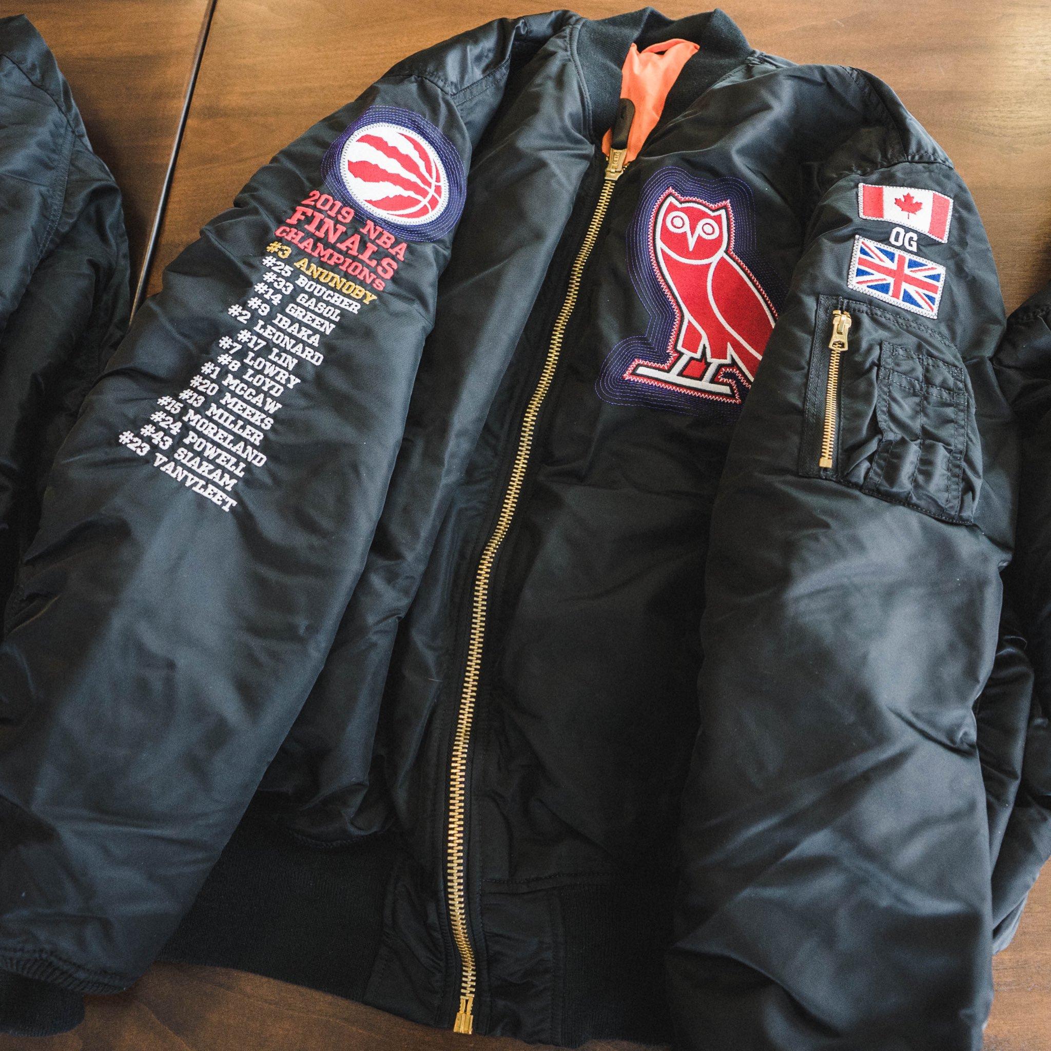 raptors drake jacket