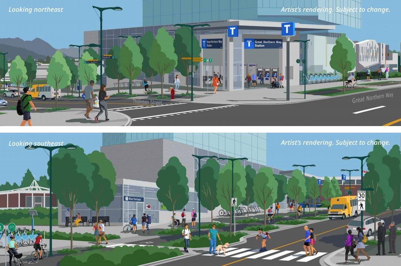 SkyTrain Millennium Line Broadway Extension Subway Great Northern Way Station