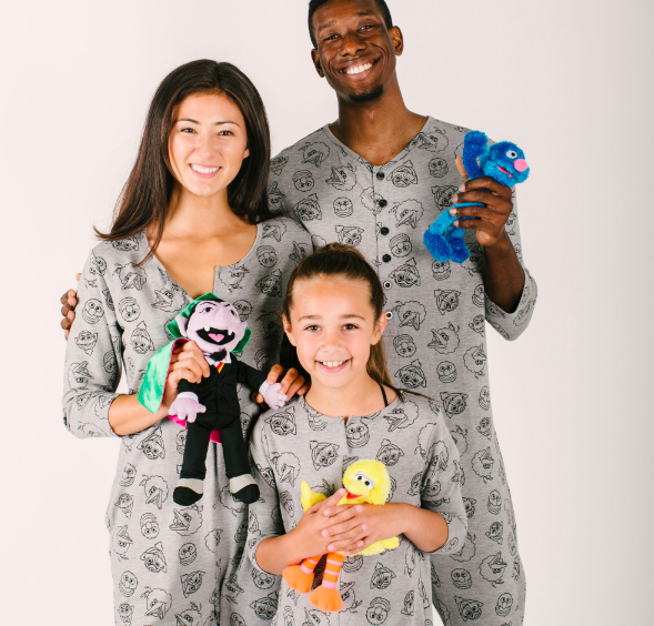 Smash and Tess x Sesame Street rompers