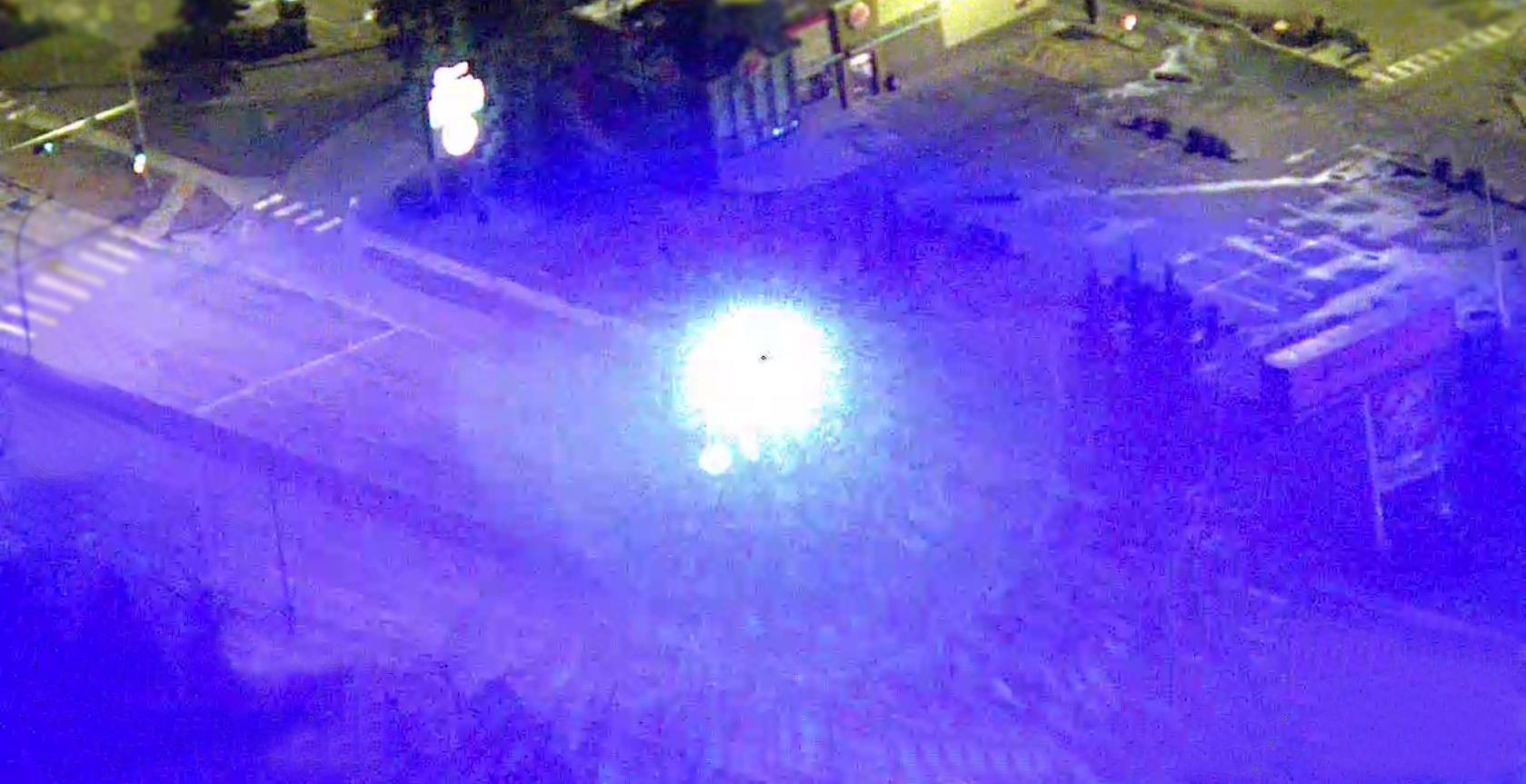 laser police