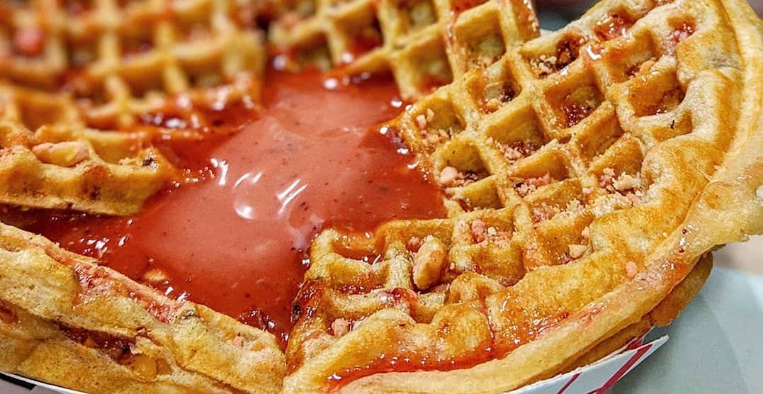 Here's where you can get FREE waffles in Toronto today and tomorrow