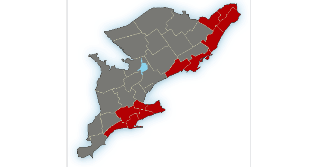 All of Southern Ontario under weather alerts this Halloween