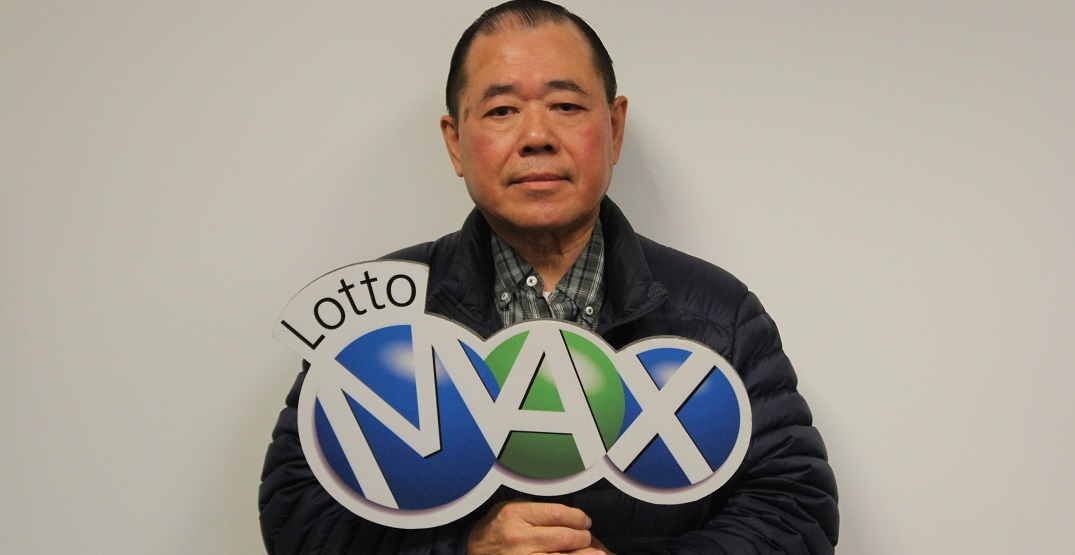 A Calgary man just won $65 million from a Lotto Max ticket