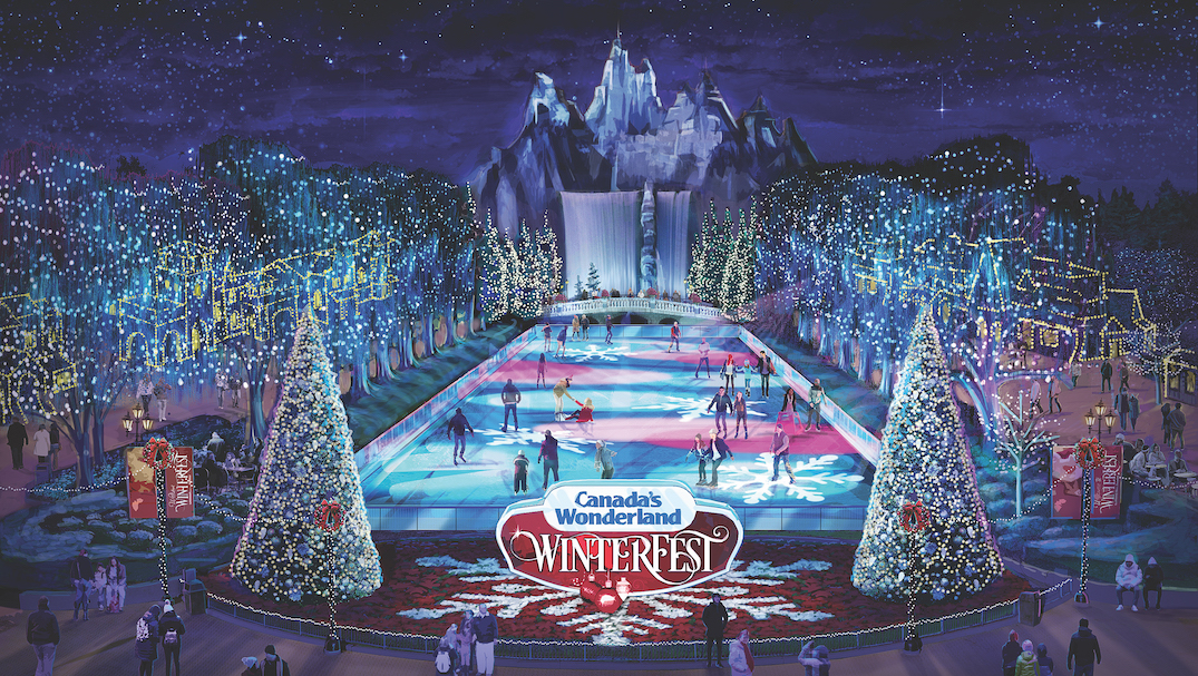 Canada's Wonderland's massive new winter festival opens this month (VIDEO)
