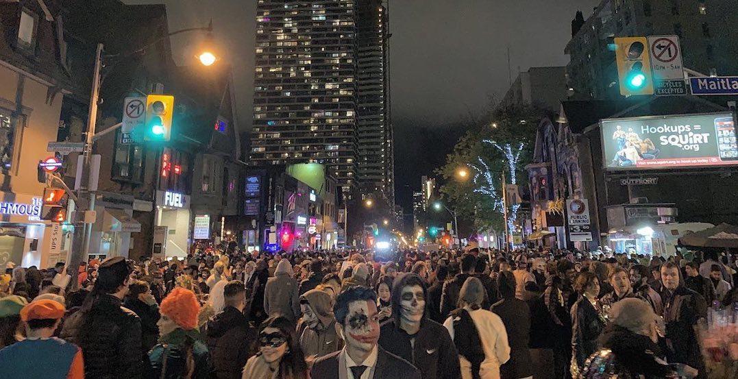 33 frightening photos of Toronto's Church Street Halloween party