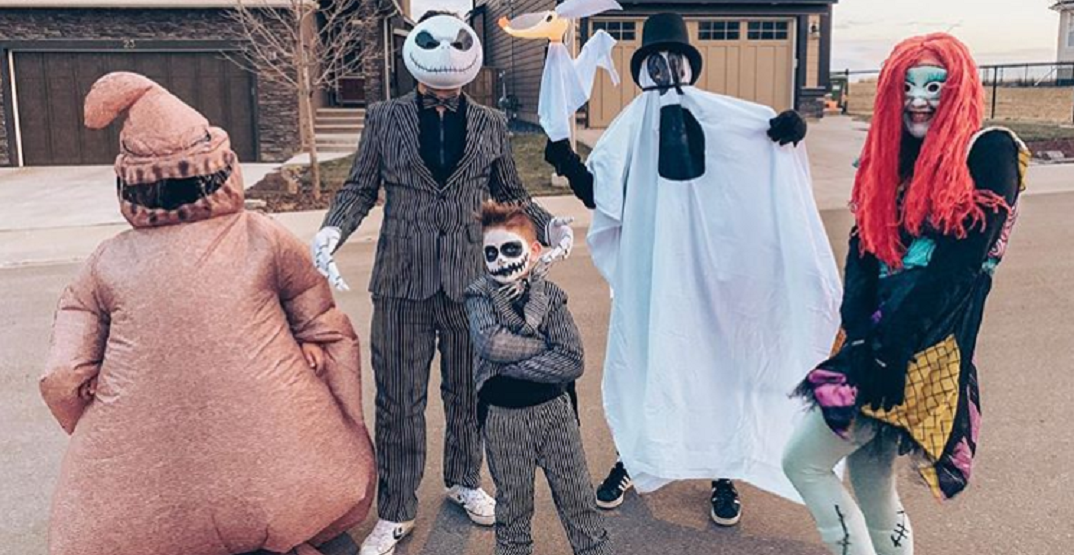 These were some of the most creative costumes in Calgary last night