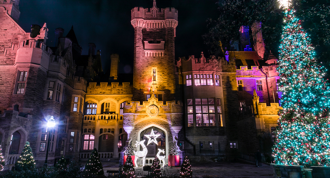 Casa Loma is transforming into a winter wonderland (PHOTOS)