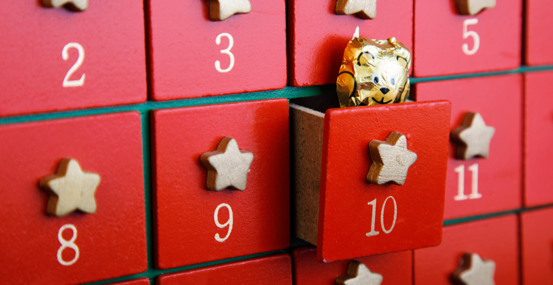 3 drool-worthy edible Canadian holiday advent calendars