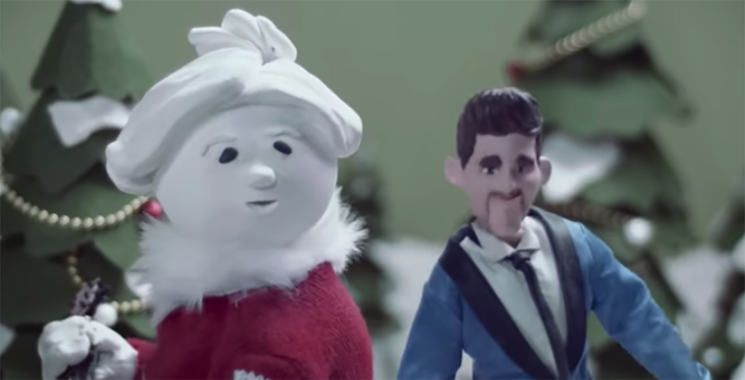 Michael Bublé has already released a new Christmas song