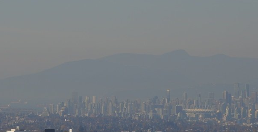Air quality advisory issued for Metro Vancouver, Fraser Valley