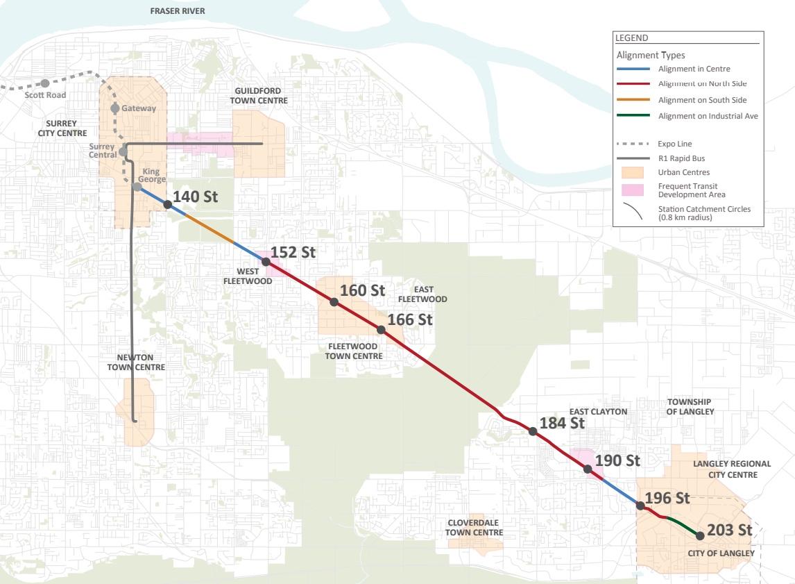Fraser Highway Extension TransLink SkyTrain