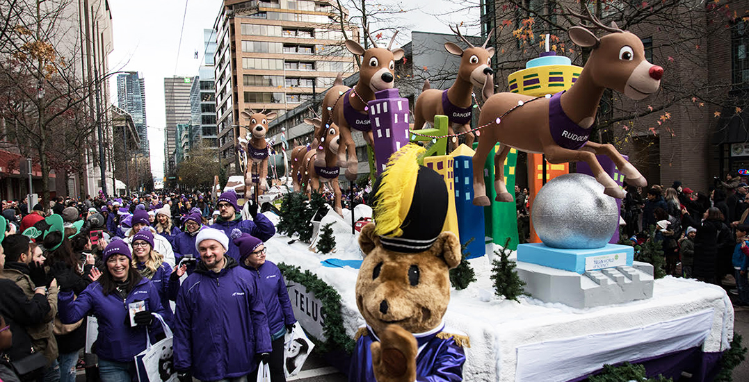 Volunteers wanted for the 16th annual Vancouver Santa Claus Parade