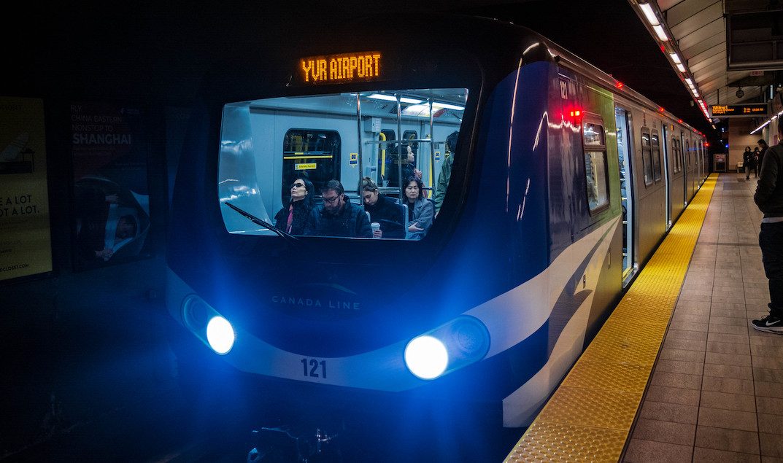 Canada Line train SkyTrain
