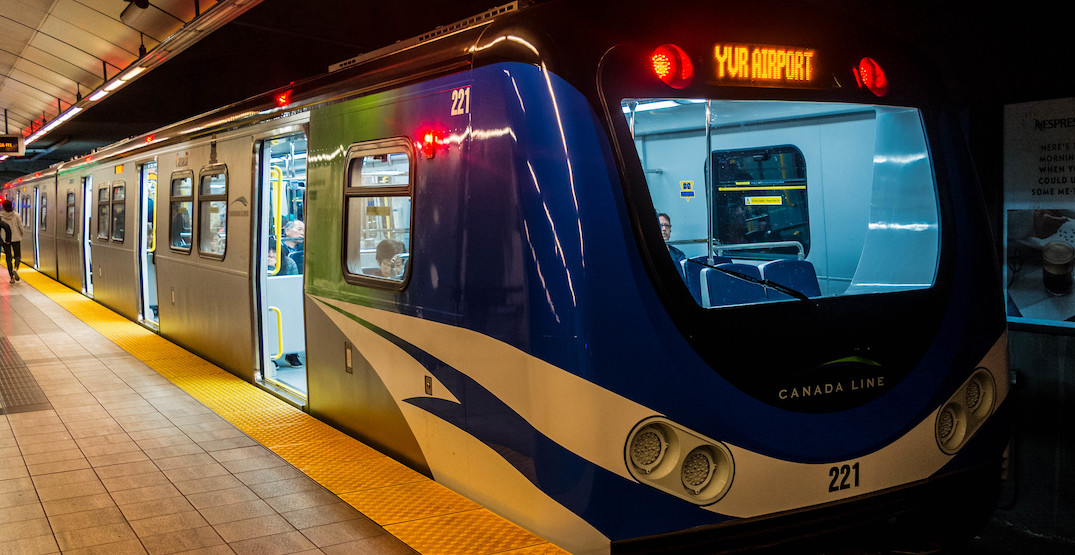 Relief has arrived: Canada Line peak service increased with new trains