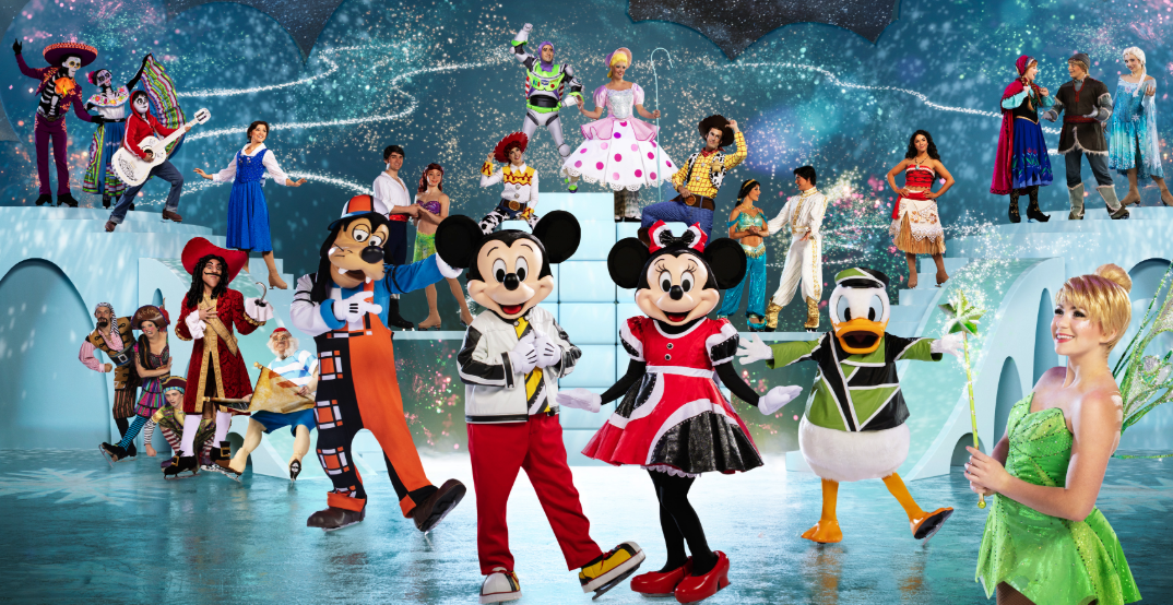 Disney On Ice's 'Mickey's Search Party' comes to Vancouver this month