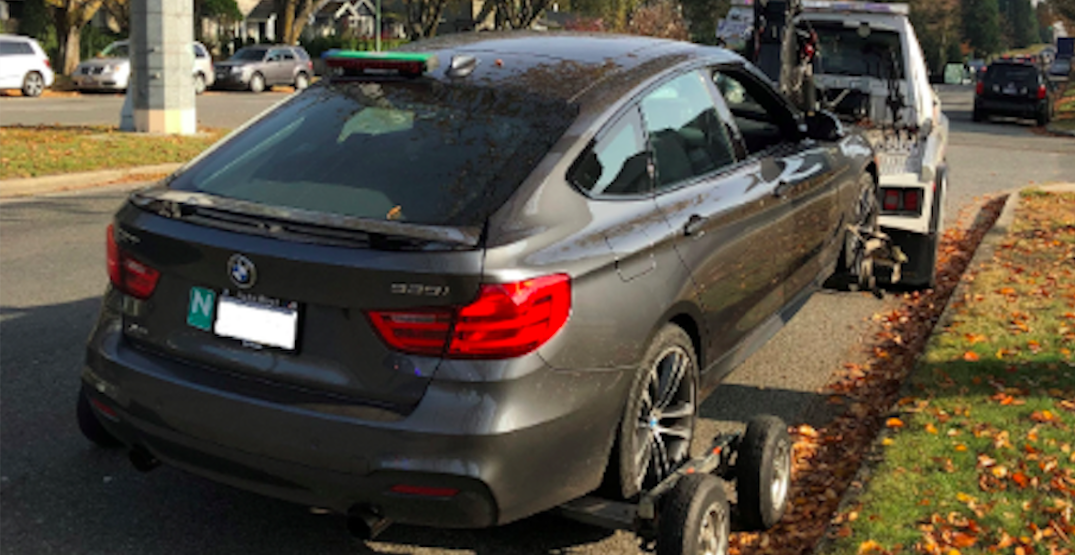BMW driver with 'N' licence clocked at nearly 3x the speed limit in Vancouver school zone