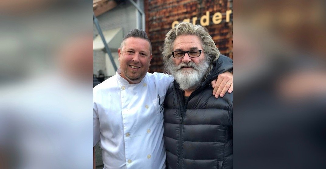 Kurt Russell was just spotted at this Vancouver restaurant (PHOTO)
