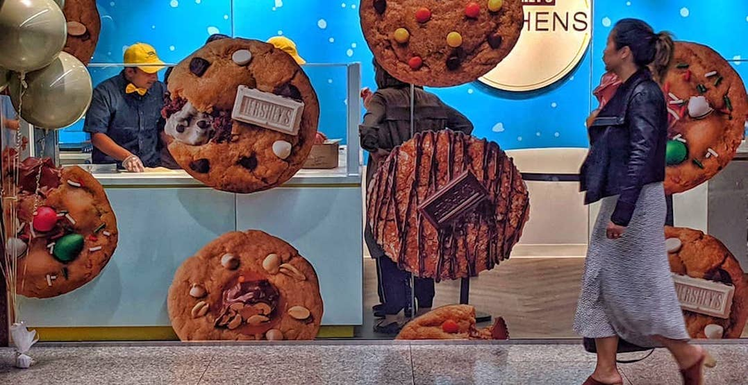 Hershey's has a make-your-own cookie pop-up in Toronto right now