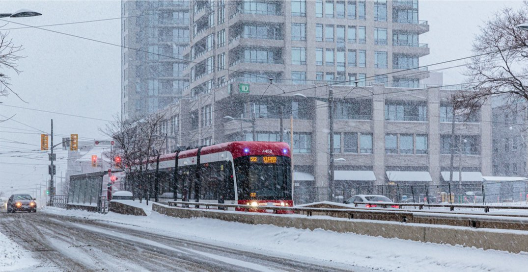 Snow is in Toronto's forecast again this weekend