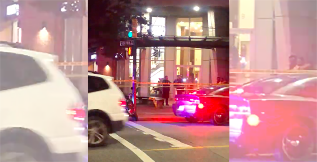 Person rushed to hospital after stabbing near International Village Mall