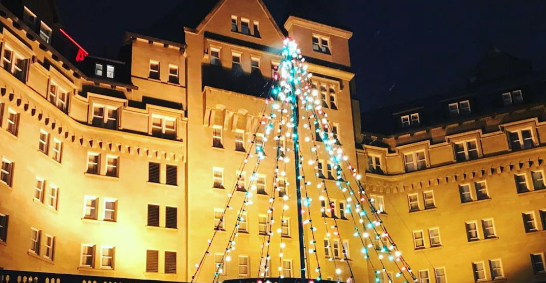 There's a 20-foot-tall gingerbread house coming to Fairmont Hotel Macdonald's tree lighting ceremony