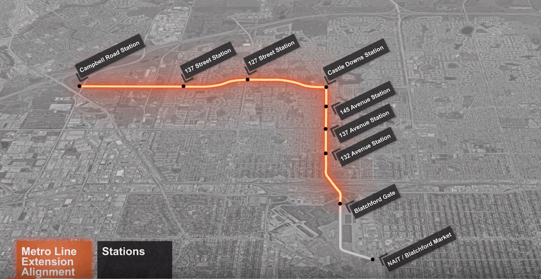 New video shows preliminary design of Metro Line Northwest LRT extension