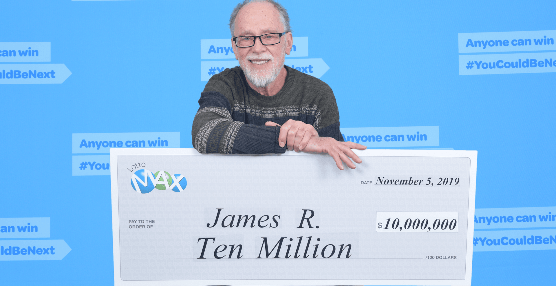 Vancouver man winner of $10-million in Lotto Max draw
