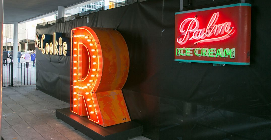 Vancouver's heritage neon signs to illuminate Amazon's new office building