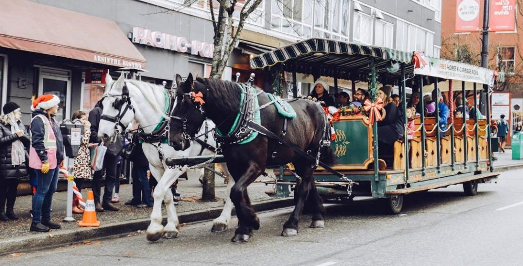A magical (and free!) holiday festival is taking over Commercial Drive