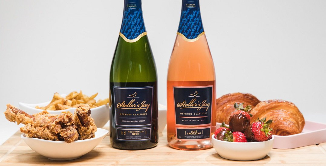 We asked an expert how to pair sparkling wine and comfort food